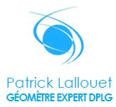 Logo Patrick Lallouet Geomètre Expert DPLG